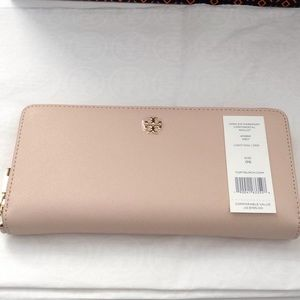 Tory Burch York Zip Continental Wallet New